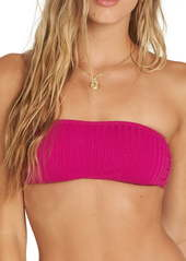 Billabong Sunny Ribbed Bandeau Bikini Top
