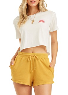Billabong Sun's Out Crop Recycled Cotton Graphic Tee