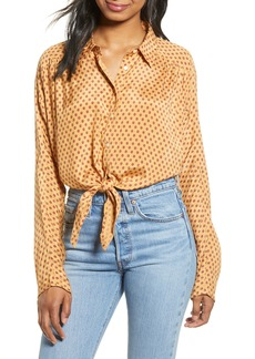 Billabong Sunset Sessions Tie Hem Shirt