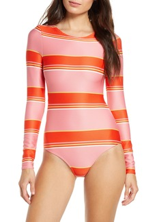 Billabong Tanlines Stripe Swim Bodysuit