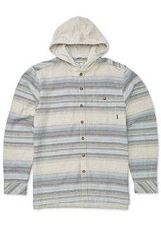 Billabong Toddler & Little Boys Baja Hooded Flannel Shirt