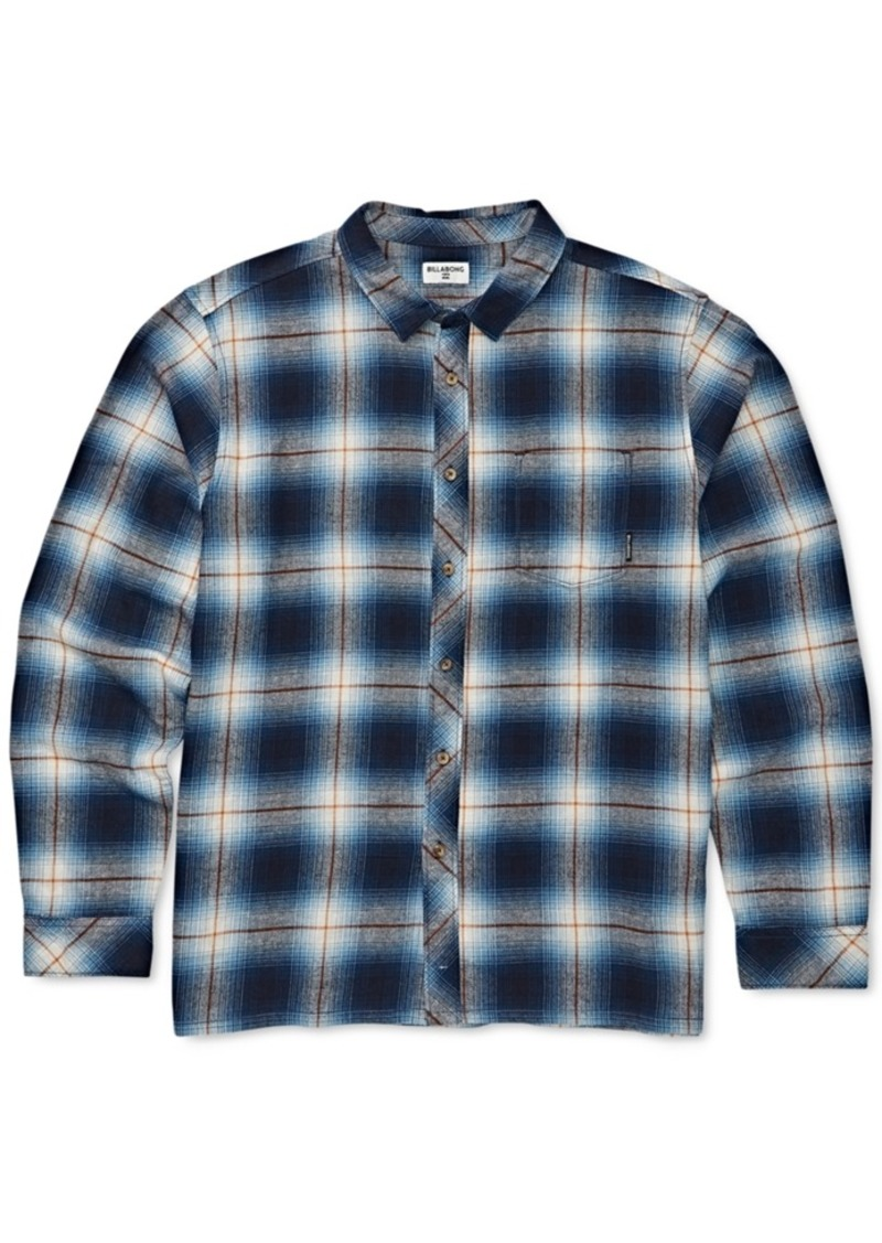 Billabong Toddler & Little Boys Coastline Flannel Plaid Cotton Shirt
