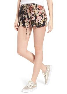 Billabong Trippy Day Floral Print Shorts