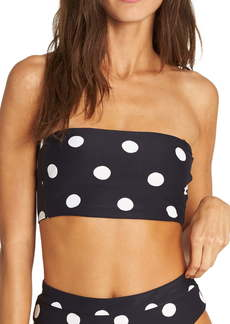 Billabong True That Reversible Bandeau Bikini Top