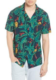 Billabong Vacay Print Short Sleeve Button-Up Camp Shirt