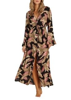Billabong Valletta Long Sleeve Maxi Dress
