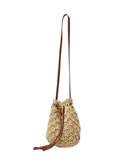 Billabong Wake Up Straw Bucket Bag
