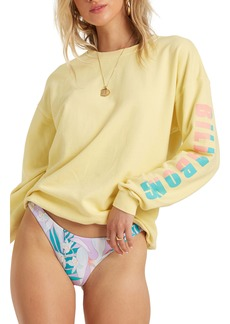 Billabong Wave Washed Graphic Sweatshirt