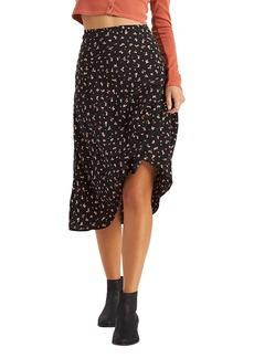 Billabong Wild & Free Floral Midi Skirt