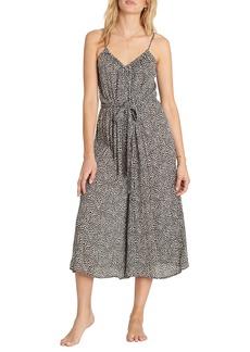 Billabong Wild Hearts Tie Waist Midi Dress