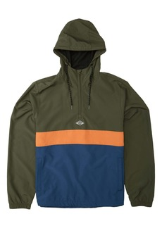 Billabong Wind Swell Half Zip Hooded Anorak Jacket