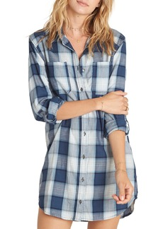 Billabong Winter's Tail Plaid Shirtdress