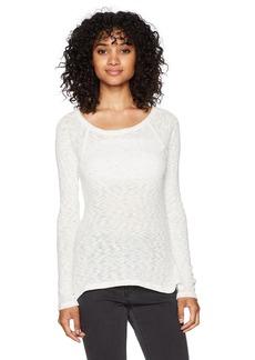 Billabong Women's Along The Way Open Neck Pullover Sweatshirt  S