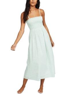 Billabong Women's Baja Breeze Cotton Midi Dress