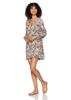 Billabong Women's Beach Sun Printed Woven Dress  XS