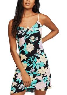 Billabong Women's Blooming Mini Slip Dress