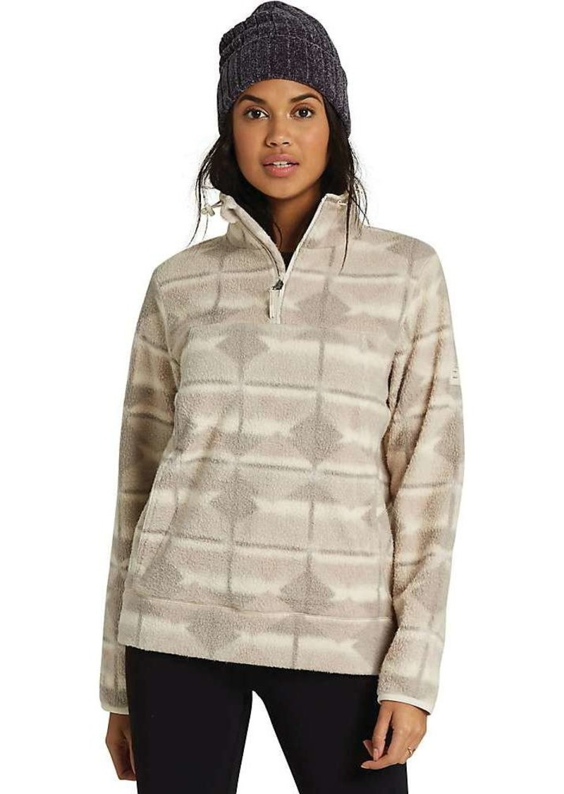 Billabong Women's Boundary Mock Half Zip