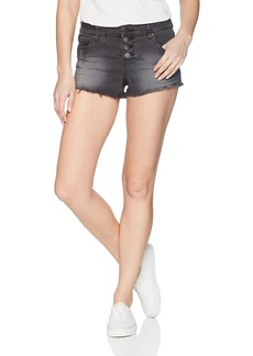 Billabong Women's Buttoned up Denim Short