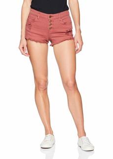 Billabong Women's Buttoned up Short