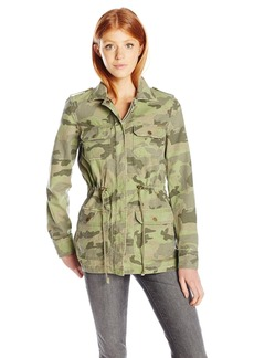 Billabong Women's Cant See Me Military Camo Jacket  S