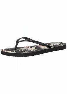 Billabong Women's DAMA Logo Flip Flop Sandal
