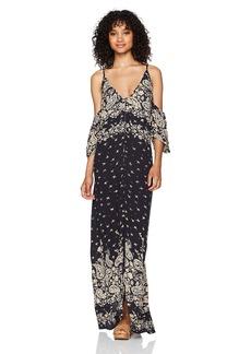 Billabong Women's Desert Dance Woven Maxi Dress  L