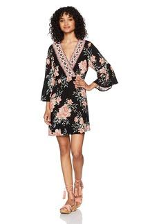 Billabong Women's Divine Printed Woven Dress  M