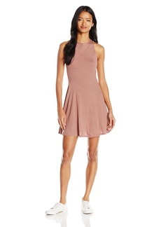 Billabong Junior's Dream on High Neck Stripe Skater Dress  M