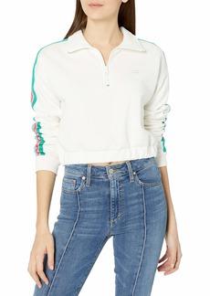 Billabong Women's Finding Waves Half Zip Sweatshirt  L
