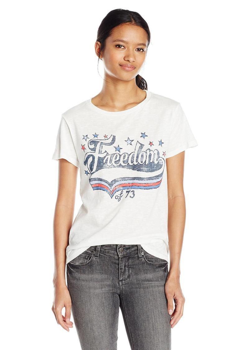 eaea591a6213f Billabong Billabong Women's Freedom Summer Boyfriend Graphic Tee M ...