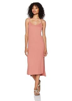Billabong Women's Great News Knit Tank Midi Dress  M