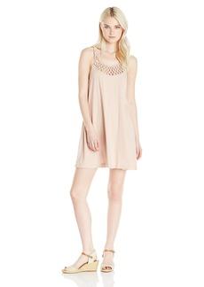 Billabong Women's Great Views Macrame Knit Dress