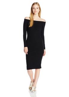 Billabong Women's Help Myself Stretch Body Con Midi Dress  L