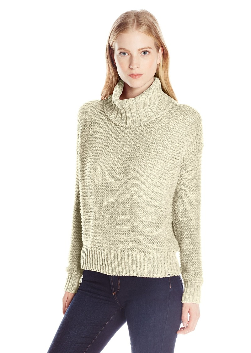 Billabong Billabong Junior's Here We Are Chunky Turtleneck Sweater ...