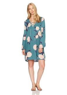 Billabong Women's Just Like You Woven Printed Dress  S