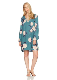 Billabong Women's Just Like You Woven Printed Dress  XS