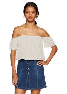Billabong Women's La Boheme Off The Shoulder Top  L