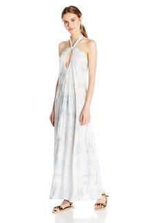 Billabong Women's Limit Halter Maxi Dress  L