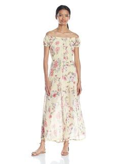 Billabong Women's Linger Here Off Shoulder Maxi Dress  XS