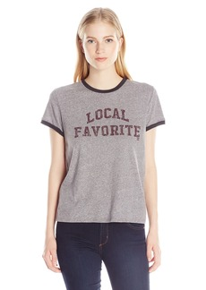 Billabong Junior's Local Fave Graphic Ringer Tee  L