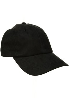 Billabong Women's Lux Club Faux Suede Baseball Hat
