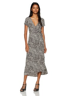 Billabong Women's Me up Wrap Dress  S