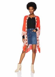 Billabong Women's  Nights Kimono Top M/L