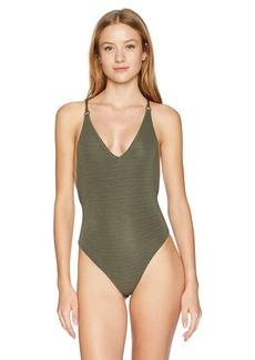 Billabong Women's No Hurry One Piece Swimsuit  S