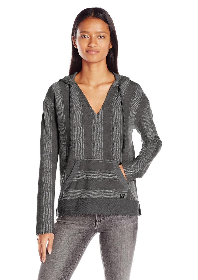Billabong Women's Roadie Baja Fleece Pullover Hoodie  L