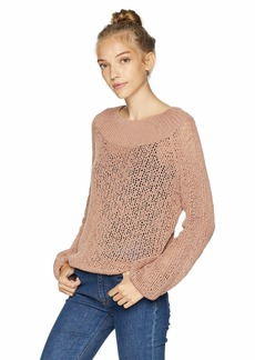 Billabong Women's Rolled up Sweater  L