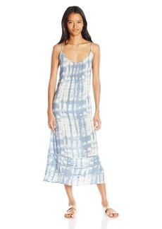Billabong Women's Salty Sunset Cover up Maxi Dress