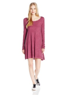 Billabong Junior's Same Day Long Sleeve Knit Dress  M
