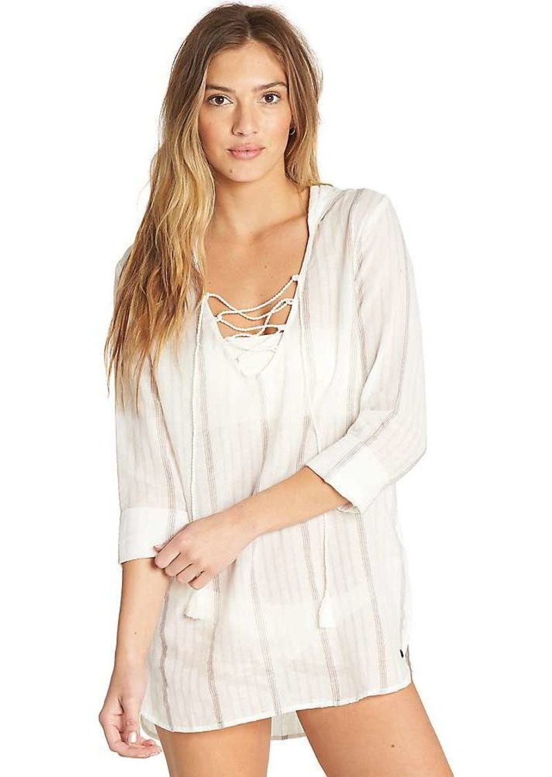 Billabong Women's Same Story Pullover Cover Up