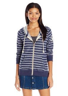 Billabong Junior's Setting Sun Stripe Zip up Hoodie  S
